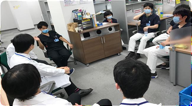 医学生向け座談会