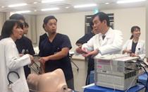 胸腔鏡トレーニングを実施しました