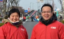熊本城マラソンの救護班として参加しました!